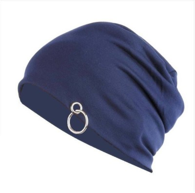 Saifpro Solid Beanie with Ring Cap