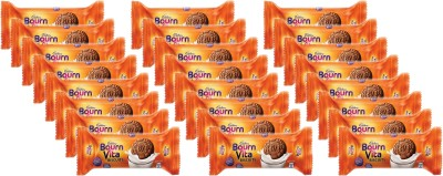 Cadbury bournvita Biscuits Pro-Health Cookies 46.5 g (Pack of 24)(46.5 g, Pack of 24)  available at flipkart for Rs.240