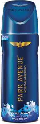Park Avenue Cool Blue Freshness Deodorant Spray  -  For Men(150 ml)  available at flipkart for Rs.189