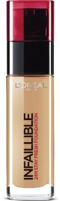 Loreal Paris Infallible 24Hr Liquid Foundation, Toffee 320, 30Ml