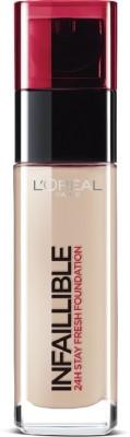 Loreal Paris Infallible 24H Liquid Foundation, Natural Rose 125, 30 ml