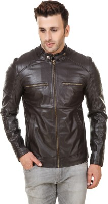 Kimbley Full Sleeve Solid Men Jacket at flipkart