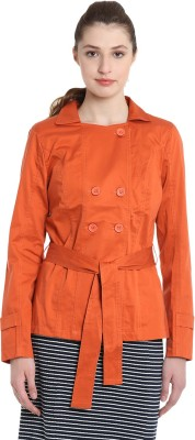 United Colors of Benetton Full Sleeve Solid Women Jacket at flipkart