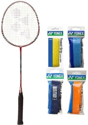 Yonex Combo of Five One 'Carbonex 7000 Ex' Badminton Racket and Four 'AC 402 Towel' Badminton Grip (Color on availability) Badminton Kit  available at flipkart for Rs.2270