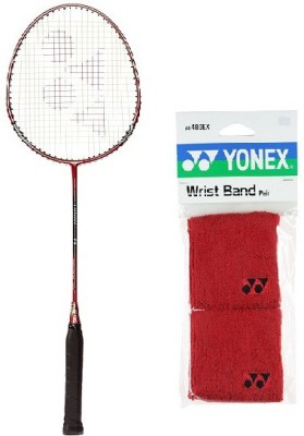 Yonex Combo of Two One 'Carbonex 7000 Ex' Badminton Racket and One Pair of Wrist Band (Color on availability) Badminton Kit  available at flipkart for Rs.2000