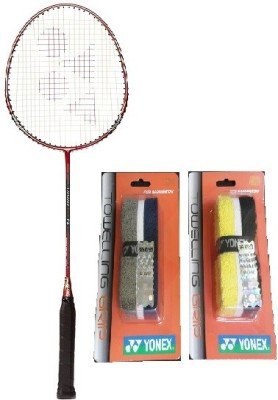 Yonex Combo of Three One 'Carbonex 7000 Ex' Badminton Racket and Two 'Ac 204 2 T T' Badminton Grip (Color on availability) Badminton Kit  available at flipkart for Rs.2000