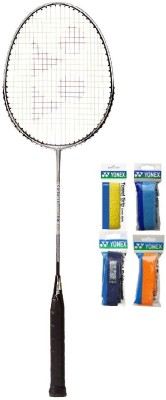 Yonex Combo of Five One 'Carbonex 6000 Ex' Badminton Racket and Four 'AC 402 Towel' Badminton Grip (Color on availability) Badminton Kit  available at flipkart for Rs.2030