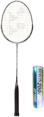 Yonex Combo of Two One 'Carbonex 6000 Ex' Badminton Racket and One Box 'Mavis-200i' Shuttle cock (Pack of 6) (Color on availability) Badminton Kit  available at flipkart for Rs.2180