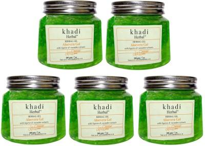 Khadi Herbal Aloevera Gel - Green(1000 g) at flipkart