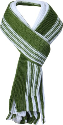 Amour Propre Striped Men & Women Muffler
