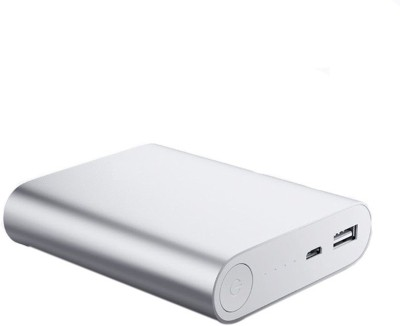 CRAWL 10400 mAh Power Bank (104K, Fast Charge Ultra Portable Battery Charger)(Silver, Lithium-ion)