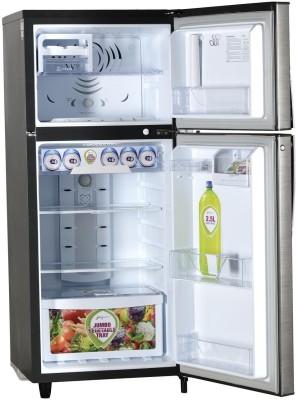 Godrej 240 L Frost Free Double Door 2 Star Refrigerator Silver Stokes, R T Eon 240C 2.4 S Strok Godrej Refrigerators