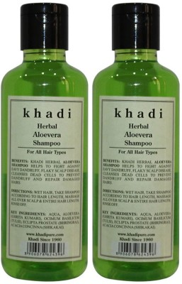 Khadi Herbal Aloevera Shampoo(420 ml)