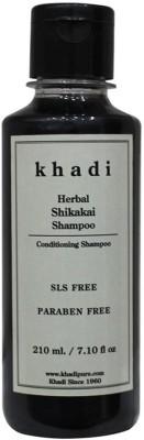 Khadi Herbal Shikakai Shampoo SLS-Paraben Free(210 ml)