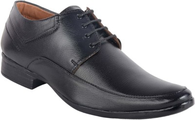 ASF SHOE Black shoes formal mens and boys Lace Up For Men(Black)  available at flipkart for Rs.398