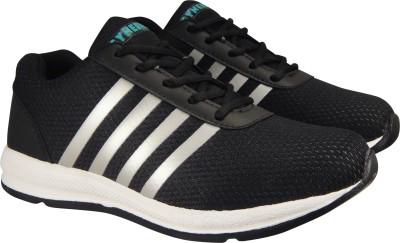 951225e2d81 Action Synergy Men s 7204 Black Silver Sports Running Shoes For Men(Black