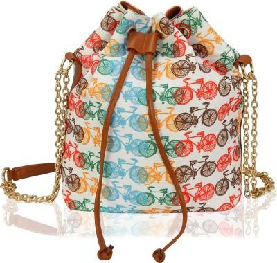7c07fee702d 53% OFF on Kleio Women Evening Party Multicolor Canvas Sling Bag on  Flipkart