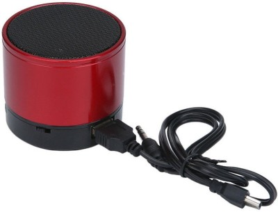 VibeX ™ Rechargeable Bluetooth Wireless Mini Stereo Speaker F Phone PC MP3 15 W Bluetooth Speaker(Red, Mono Channel)