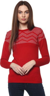 Honey By Pantaloons Striped Round Neck Casual Women