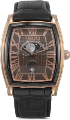 Titan 1661KL01 Celestial Analog Watch (1661KL01)