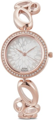 Titan 2539WM01 Raga Analog Watch   For Women Titan Wrist Watches
