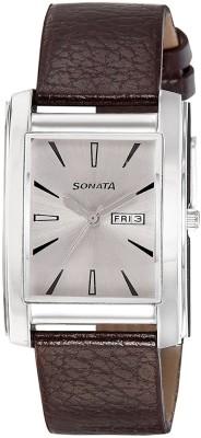 Sonata 7953SL08  Analog Watch For Men