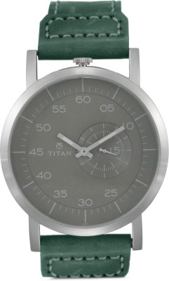 Titan 90026SL02J Road Trip Analog Grey Dial Men's Watch (90026SL02J)
