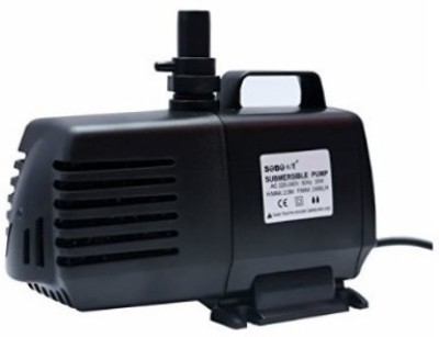 ROYAL PET SOBO Submersible Pump WP-102 | Power: 18W (Flow MAX: 1200L/Hr | Height MAX: 2 Meters) Water Aquarium Pump(274 cm)