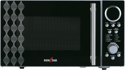 Kenstar KJ25CSL101 25 Lts Convection Microwave Oven Silver