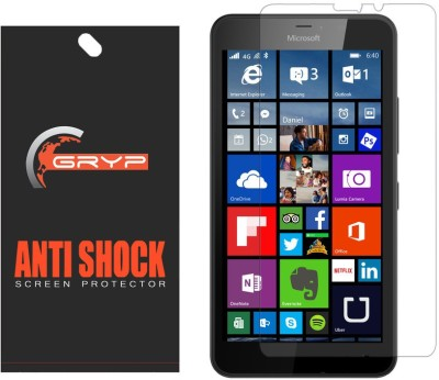GRYP Screen Guard for Microsoft Lumia 640 XL(Pack of 1)