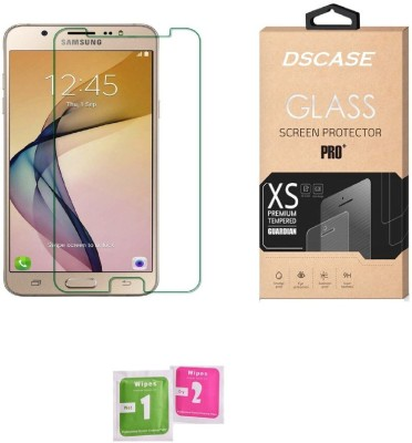 DSCASE Tempered Glass Guard for Smasung Galaxy J7 Max(Pack of 1)