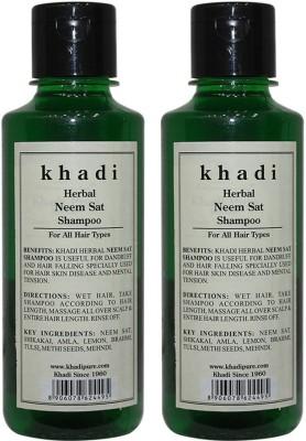 Khadi Herbal Neem Sat Shampoo(420 ml)