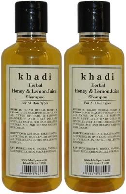 Khadi Herbal Honey & Lemon Juice Shampoo(420 ml)
