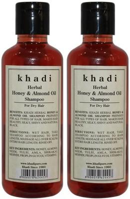 Khadi Herbal Honey & Almond Oil Shampoo(420 ml)