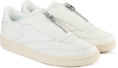 REEBOK CLUB C 85 ZIP Tennis Shoes For Women(White)