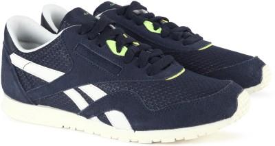 79a23e0683833 55% OFF on Reebok CL NYLON SLIM EP Running Shoes For Women(Navy) on Flipkart