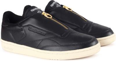 REEBOK CLUB C 85 ZIP Tennis Shoes For Women(Black)