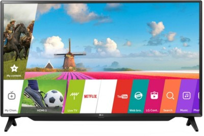 LG 123 cm (49 inch) Full HD LED Smart TV(49LJ617V)