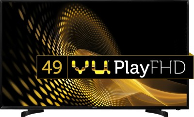 VU 49 inch FULL HD Smart LED TV is one of the best LED televisions under 30000