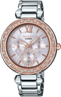 Casio SX212 Sheen Analog Watch For Women
