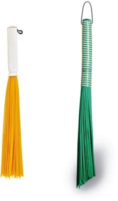 Vimal Wet & Dry Brooms Combo Set Plastic Wet and Dry Broom(Multicolor, Pack of 2) Flipkart
