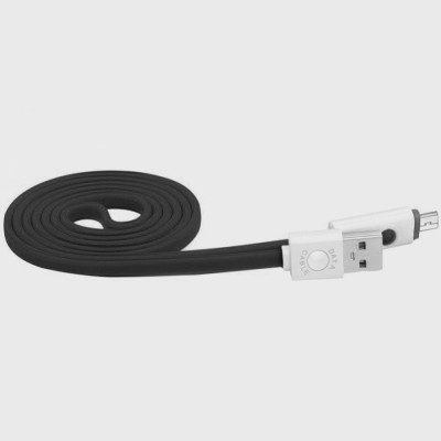 bs power EZ052-BLACK Lightning Cable(Black)