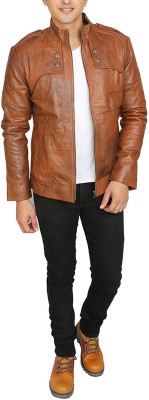 Leather Bags & More... Full Sleeve Solid Men Jacket