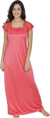 Klamotten Women Nighty(Pink)