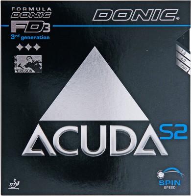 Donic Accuda S2 Max Table Tennis Rubber(Black)