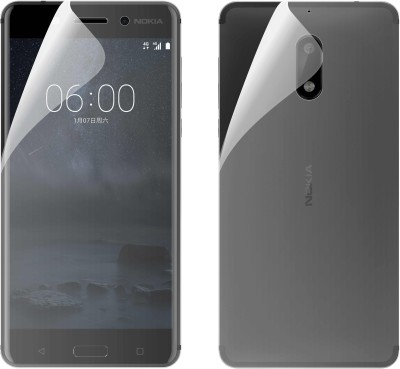 Case Creation Front and Back Screen Guard for Nokia 3.2 (6.26-inch)(Pack of 2)