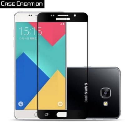 Case Creation Tempered Glass Guard for Samsung Galaxy A7 (2016) SM-A710(Pack of 2)
