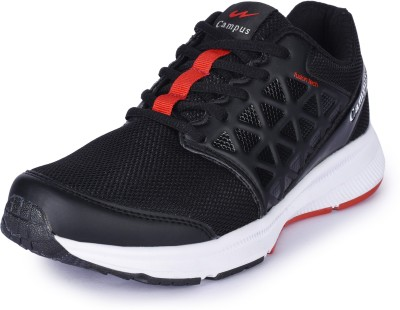Campus SHADOW Running Shoes For Men(Black, Red)
