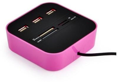 VU4 Combo Card Reader High Speed Card Reader(Pink)