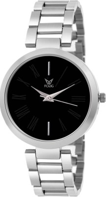 Fogg 4049-BK Elegant Analog Watch For Women
